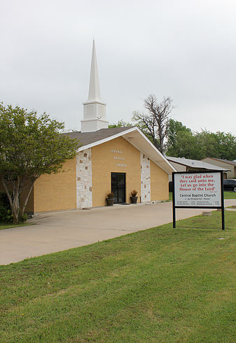 Central Baptist Church Plano Texas